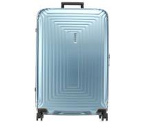 Neopulse 4-Rollen Trolley blau metallic