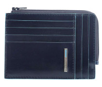 Blue Square RFID Kreditkartenetui dunkelblau