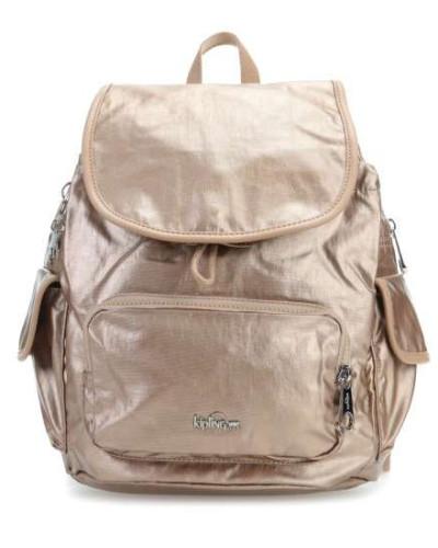 Kipling Damen Basic Plus LM City Pack S Rucksack bronze
