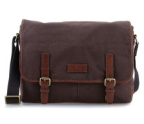 Graham 15'' Laptop Messenger braun