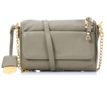 Leather Nown Bellisa Schultertasche mud