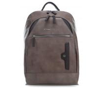 Phoenix 15'' Laptop-Rucksack taupe