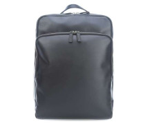London 15'' Laptop-Rucksack schwarz