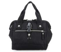 Nylon Frameboy Handtasche schwarz