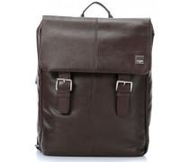 Brompton Hudson 15'' Laptop-Rucksack braun
