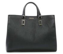 Leather Large Malia-F Shopper schwarz