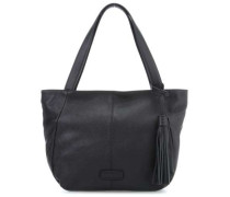 Zipper Louisville Shopper schwarz