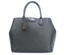 Grainy Handtasche schwarz