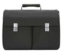 17'' Aktentasche mit Laptopfach schwarz