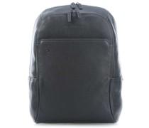 Black Square Laptop-Rucksack