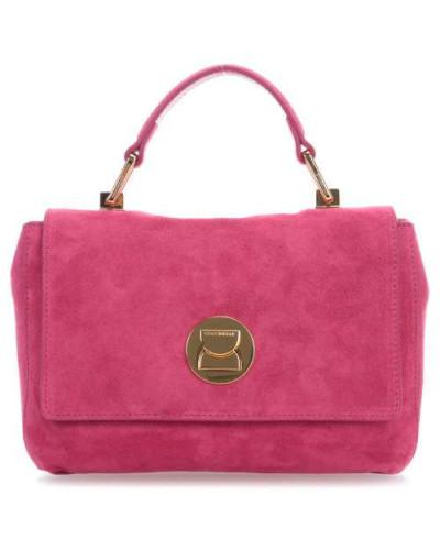 Günstig Kauft Heißen Verkauf Mode Online Coccinelle Damen Liya Suede Schultertasche pink N0t55tMK2
