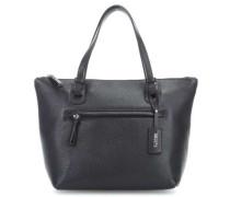 X-Bag Pelle Handtasche schwarz