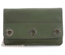 Gromme Marla Clutch dunkelgrün