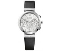 Classic Women Sport Chronograph silber