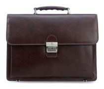Realta 13'' Aktentasche mit Laptopfach dunkelbraun
