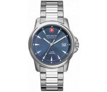 Swiss Recruit Prime Schweizer Uhr silber