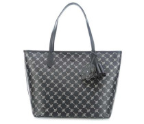 Cortina Metallic Lara Shopper schwarz