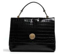 Liya Croco Handtasche schwarz