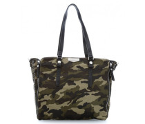 The Lucy Romance Glamster Julies Romance Shopper camouflage