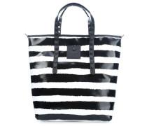 Lucrezia L Shopper schwarz weiß