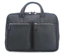 Sartoria M 14'' Aktentasche mit Laptopfach schwarz