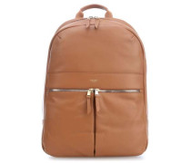 Mayfair Luxe Beaux 14'' Laptop-Rucksack karamellbraun