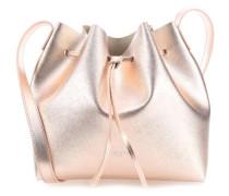 Pur Saffiano M Beuteltasche metallic pink