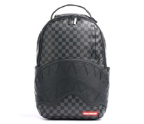 Henny Black Checkered Rucksack