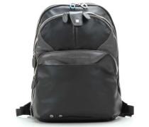 Coleos 12'' Laptop-Rucksack schwarz