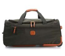 X-Bag X-Travel Rollenreisetasche grün 55