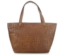 Croco Soho Shopper camel