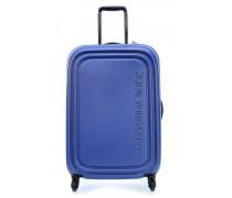 Logoduck M Spinner-Trolley blau