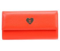 New Heart Geldbörse Damen rot