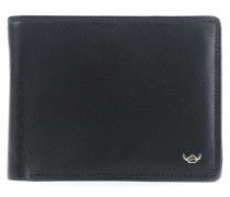 Polo RFID Geldbörse schwarz