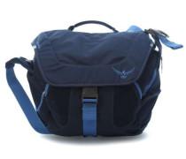 Flap Jill 15.4'' Laptop Messenger blau