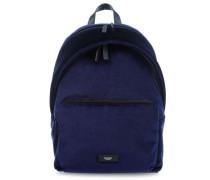 Paddington Velvet Bathurst 14'' Laptop-Rucksack blau