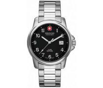 Swiss Soldier Prime Schweizer Uhr silber