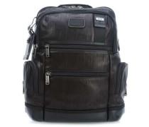 Bravo Leather Knox 15'' Rucksack schwarz