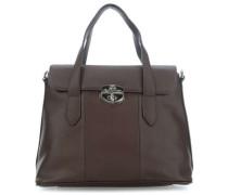 Rachele Handtasche dunkelbraun
