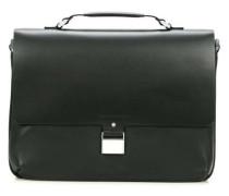 Shyrt-Leather 14'' Aktentasche mit Laptopfach schwarz