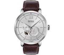 Signature Timepiece Automatikuhr silber