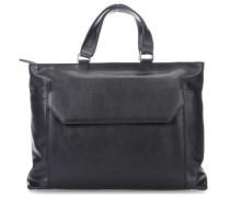 Die Zeit 16 13'' Handtasche schwarz