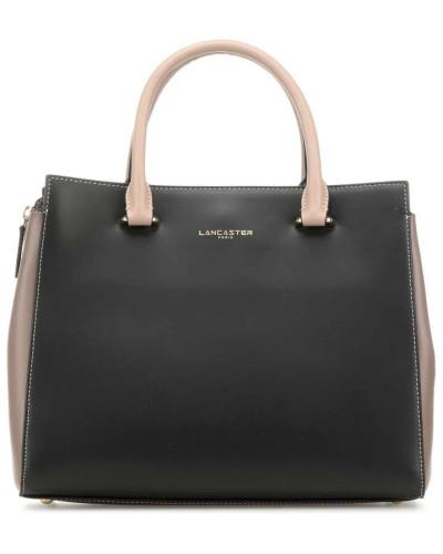 Smooth Or Isa Handtasche schwarz/beige