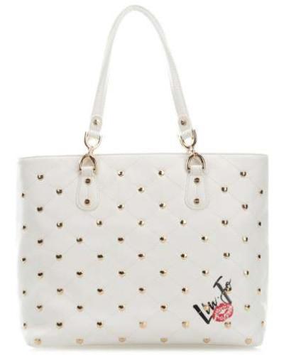 Romantica Handtasche weiß