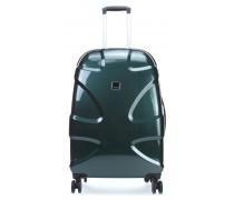 X2 Flash M+ Spinner-Trolley smaragdgruen