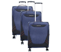 Mare SET Trolley-Set blau