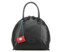 Black Mica M Handtasche schwarz