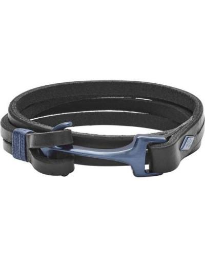 Mens Casual Armband schwarz