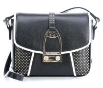 Micro Studs Abendtasche schwarz weiß