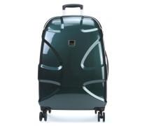 X2 Flash L Spinner-Trolley smaragdgruen